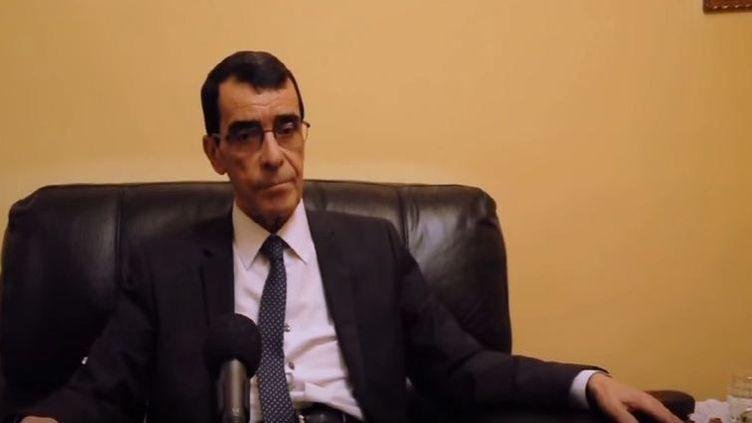 Le général Hocine Benhadid (DR/Capture d'écran)