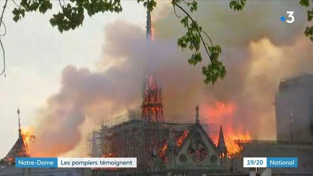 Incendie de Notre-DAme : les pompiers témoignent