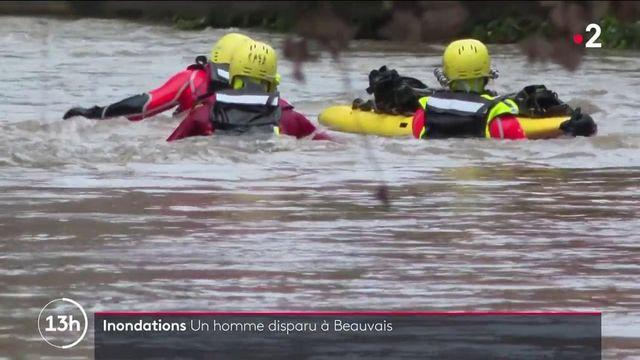 Inondations : après des pluies torrentielles, un homme disparu à Beauvais