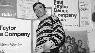 Paul Taylor à New York en Janvier 1969.  (John Lent/AP/SIPA)