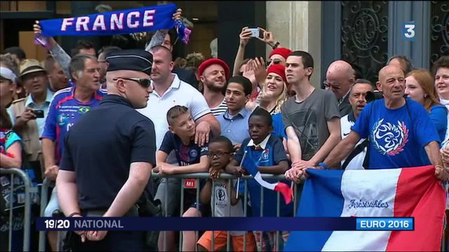 Euro : les Bleus reçus à l'Élysée