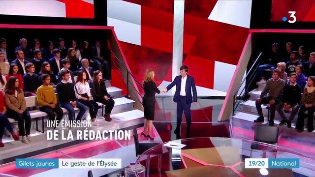 """""""Gilets jaunes"""" : face à la contestation, l'Élysée fait un geste"""
