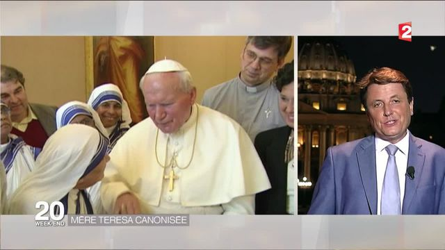 Mère Teresa canonisée