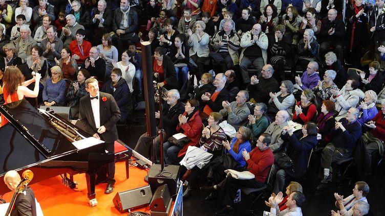 La Folle Journée 2014 à la Cité des Congrès de Nantes  (PHOTOPQR/OUEST FRANCE/F DUBRAY)