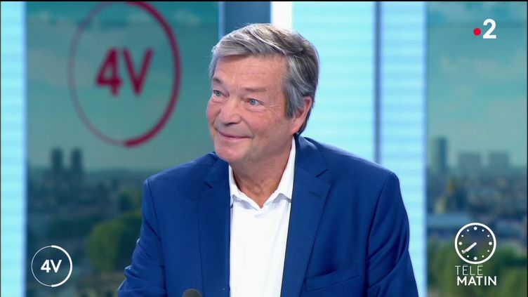Le virologue Christian Brechot (France 2)