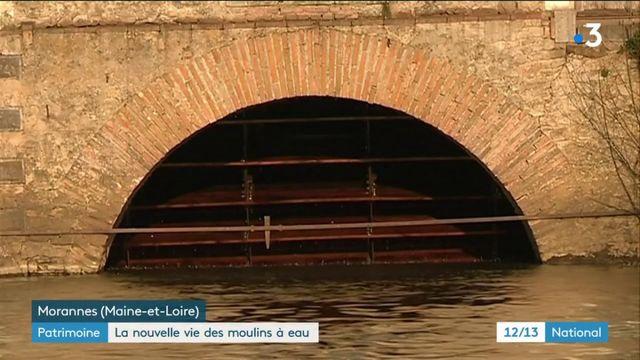 Patrimoine : la nouvelle vie des moulins à eau