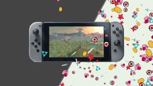 La Nintendo Switch, dernière console présentée par le constructeur japonais. (DIEGO MIRANDA / FRANCEINFO)