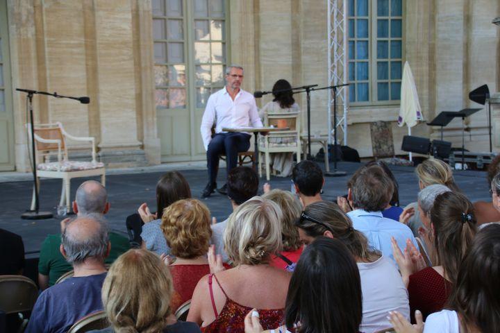 La correspondance Camus-Casarès par Isabelle Adjani et Lambert Wilson  (S.Jouve/Culturebox)