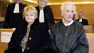 Les Le Guennec, au procès le 10 février 2015, à Grasse  (VALERY HACHE / AFP)