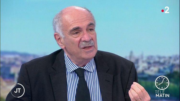 Le sociologueMichel Wieviorka. (France 2)