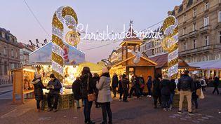 Le marché de Strasbourg (Bas-Rhin), le 3 décembre 2019. (MATTES RENE / HEMIS.FR / AFP)