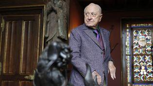 L'homme d'affaires Pierre Bergé, ex compagnon d'Yves Saint-Laurent et grand mécène réputé de gauche, est mort de ...  (PHILIPPE WOJAZER)