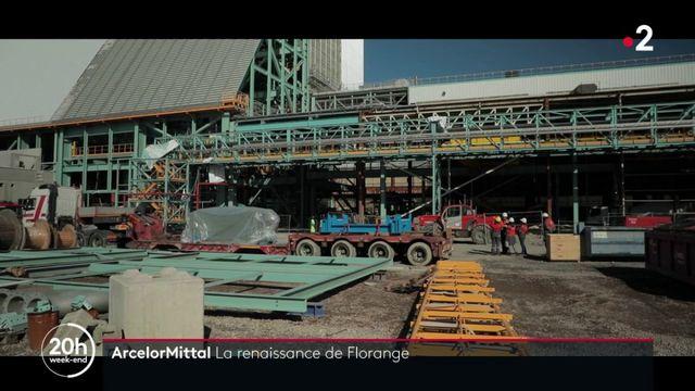 ArcelorMittal : la renaissance de l'usine mosellane de Florange