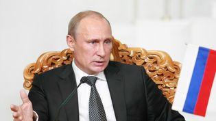 Le président russe Vladimir Poutine, le 3 septembre 2014, à Oulan-Bator (Mongolie). (BYAMBASUREN BYAMBA-OCHIR / AFP)