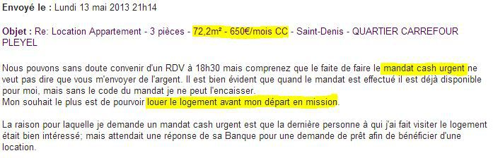 Capture écran ( FRANCETV INFO)
