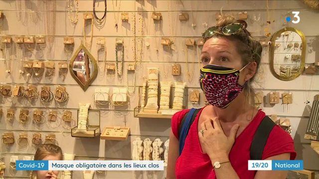 Coronavirus : le masque désormais obligatoire dans les lieux clos