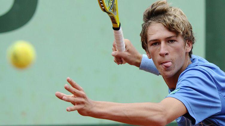 Kimmer Coppejans, vainqueur de Roland-Garros Juniors (PASCAL GUYOT / AFP)
