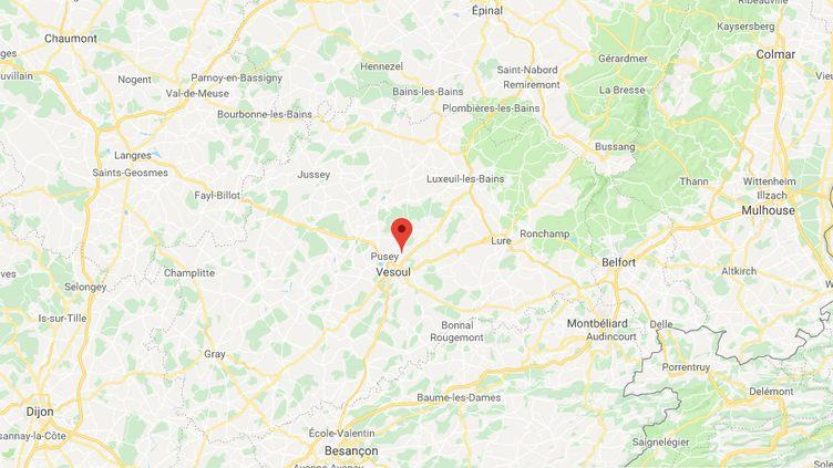 Villeparois, en Haute-Saône. (CAPTURE D'ÉCRAN GOOGLE MAPS)