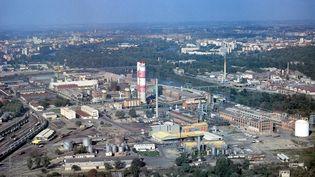 L'usine AZF de Toulouse, en 1996. (AFP)