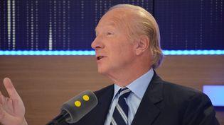 Brice Hortefeux,député européen Les Républicains, vice-président de la région Auvergne Rhône-Alpes. (Jean-Christophe Bourdillat / Radio France)