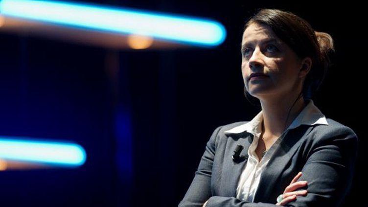 Cécile Duflot, à Paris, le 11 mai 2012. (BERTRAND LANGLOIS / AFP)
