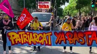 Manifestation : le retour des défilés du premier mai dans toute la France (France 3)