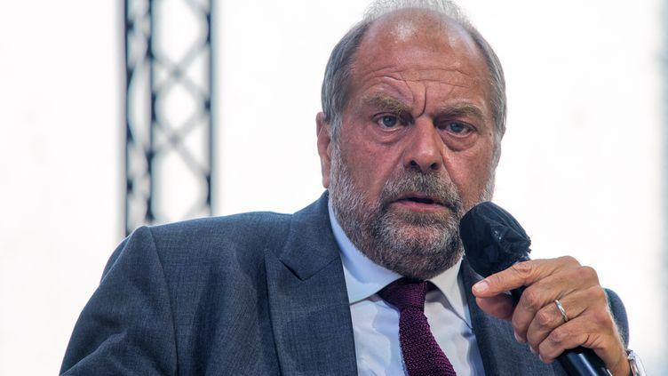 Le ministre de la Justice,Éric Dupond-Moretti, le 25 août 2021, à Paris. (DANIEL PIER / NURPHOTO / AFP)