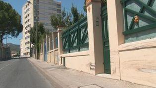 Un chauffard ivre de 23 ans a tué un enfant de 11 ans qui marchait sur un trottoir du centre de La Ciotat (Bouches-du-Rhône), le 28 juillet 2012. (FTVI / FRANCE 3)