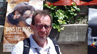Hervé Pépionn directeur et programmateur de l'EPCC d'Issoudun. (JEREMIE LAURENT-KAYSEN)