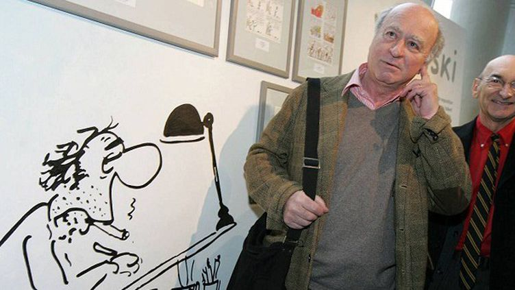Georges Wolinski au Festival de BD d'Angoulême en 2006  (PHOTOPQR/SUD OUEST)
