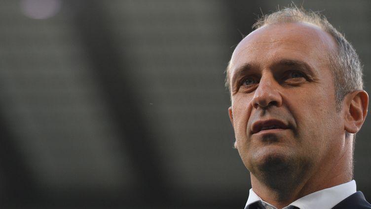 Philippe Saint-André retrouvera l'Angleterre le 22 août prochain (GLYN KIRK / AFP)