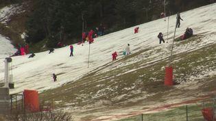 Vosges : un hiver sans neige en haut des pistes (FRANCE 3)