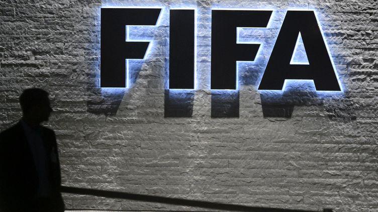 Le siège de la Fifa (FABRICE COFFRINI / AFP)