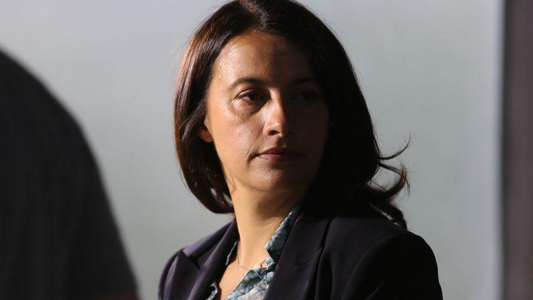 L'ancienne ministre du Logement, Cécile Duflot, en mai 2014 à Paris. (MICHEL STOUPAK / CITIZENSIDE / AFP)