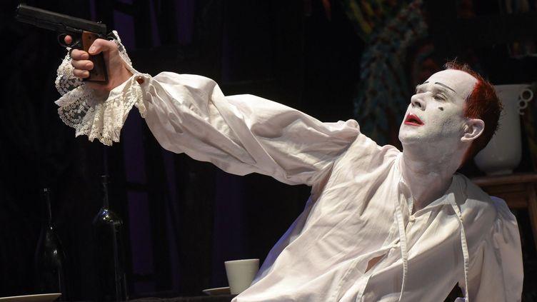 Jean-Lambert wild sous le masque de Don Juan au théâtre de l'Union de Limoges  (Tristan Jeanne-Valès)