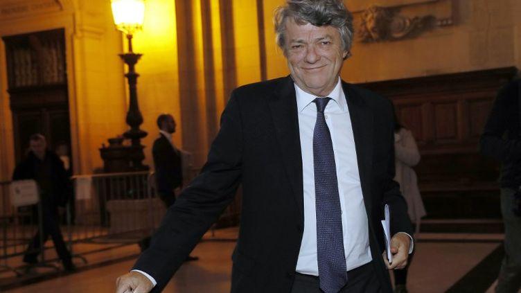 Jean-Louis Borloo, ex-ministre de la Ville, le 14 décembre 2016. (THOMAS SAMSON / AFP)