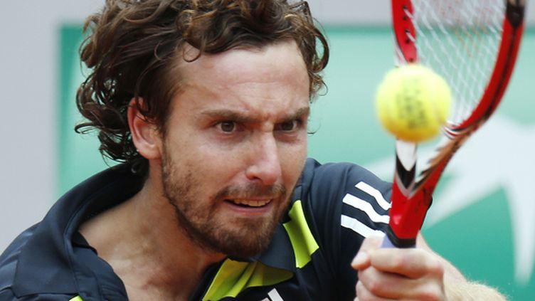 Ernests Gulbis s'est défait du piège Radek Stepanek (KENZO TRIBOUILLARD / AFP)