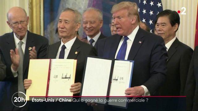 États-Unis / Chine : qui a remporté la guerre commerciale ?