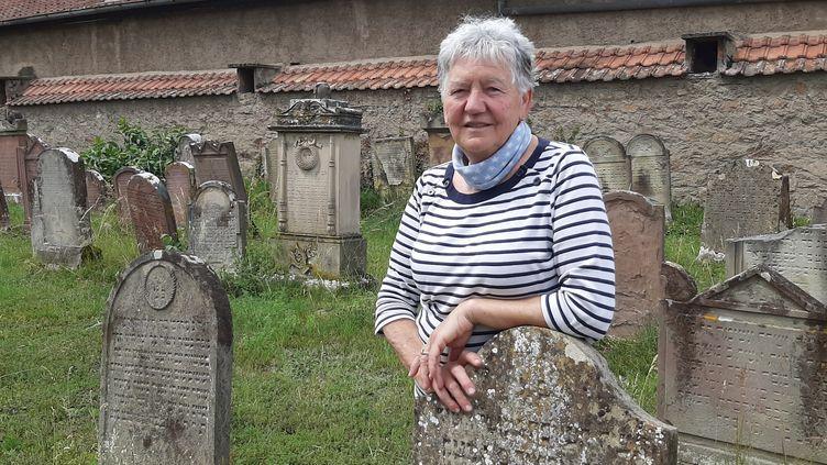 Lise Tornare, la veilleuse de mémoire. (SEBASTIEN BAER / RADIO FRANCE)