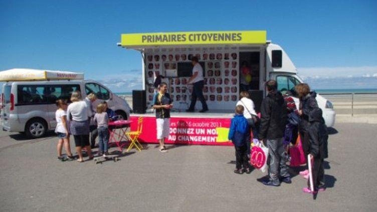 La campagne pour les primaires citoyennes du PS dans le Nord (AFP/Guillaume Daudin)