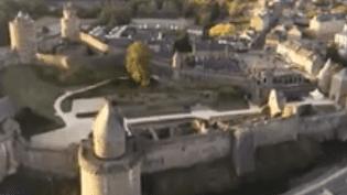 France 3 vous guide à l'intérieur du château de Fougères (Ille-et-Vilaine), la plus grande forteresse médiévale d'Europe. (France 3)