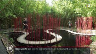 Dans le domaine de Chaumont-sur-Loire (Loir-et-Cher), un château du 15e siècle et ses jardins sont devenus une attraction pour les visiteurs et touristes. On y célèbre l'art du jardin. (FRANCE 2)