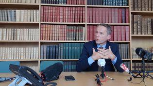 Etienne Manteaux, procureur de la République de Besançon. (MARIE-CORALIE FOURNIER / FRANCE-BLEU BESANÇON)