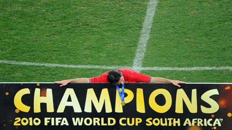 L'Espagnol Capdevilla est un Champion du monde (CHRISTOPHE SIMON / AFP)