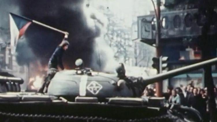La série de France 3 consacrée au cinquantenaire de mai 68 vous propose un gros plan ce jeudi 23 août sur le Printemps de Prague. (FRANCE 3)