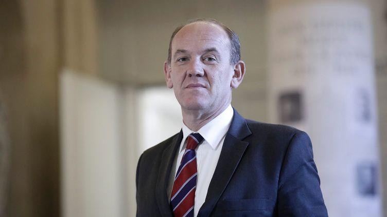 Le député UMP du Pas-de-Calais, Daniel Fasquelle, à l'Assemblée nationale, le 12 novembre 2014. (  MAXPPP)