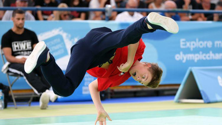 Le Français Martin Lejeune aux Jeux olympiques de la jeunesse, le 3 octobre 2018, à Buenos Aires (Argentine). (PHILIPPE MILLEREAU /  KMSP / DPPI)