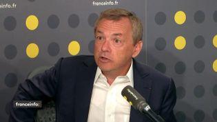 Alain Weill, PDG d'Altice France. (FRANCEINFO / RADIOFRANCE)