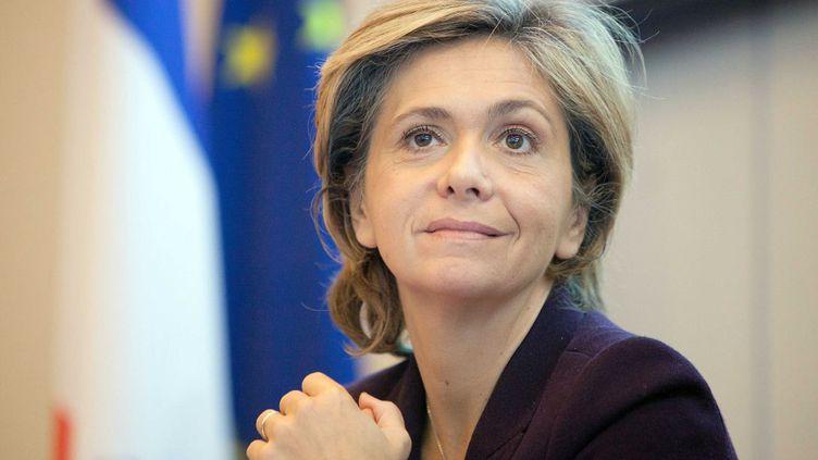Valérie Pécresse, ministre du Budget et porte-parole du gouvernement, le 24 novembre 2011 à Paris. (REVELLI-BEAUMONT / SIPA)