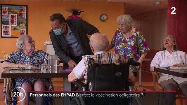 Covid-19 : vers une obligation vaccinale pour le personnel d'Ehpad ?